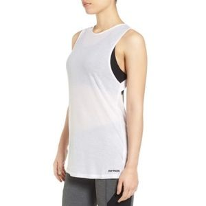 IVY PARK - Beyoncé - White Vented Back Tank Top